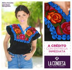 Blusas mexicanas bordadas