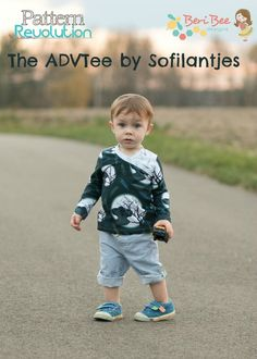 The ADVTee by Sofilantjes — Pattern Revolution