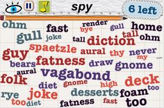 """Word Mess featured by Geek Sugar in """"10 iphone word games for cerebral satisfaction"""""""