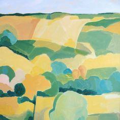 Mid Summer Landscape by Harriet Bellows