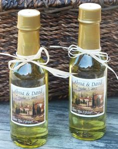 Homemade Olive Favors