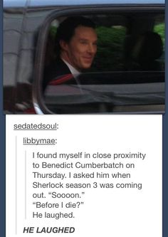 oh thats so mean benedict!
