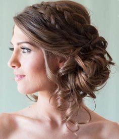Most Romantic Bridal Updos & Wedding Hairstyles