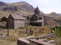 Vorotnavank (Armenian: Որոտնավանք) is a monastic complex located along a ridge overlooking the Vorotan gorge, between the villages of Vaghatin and Vorotan in the Syunik Province of Armenia.
