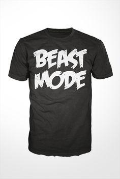 Beast Mode TShirt  workout tee mens shirt gift by GetSnacks, $16.99
