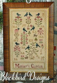 Ragamuffin #1 Anne Harrison Sampler Shakespeare/'s Peddler Cross Stitch Pattern