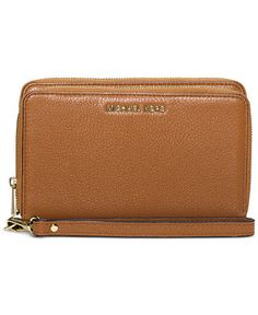 MICHAEL Michael Kors Adele Double-Zip Wallet - MICHAEL Michael Kors - Handbags & Accessories - Macy's