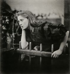 Julia Margaret Cameron The Passion Flower at the Gate 1867, Albumen print From Julia Margaret Cameron's Women
