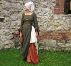 Medieval Costume, Medieval Dress, Medieval Fashion, Medieval Clothing, Historical Costume, Historical Clothing, Larp, Middle Ages Clothing, Renaissance