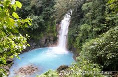 Set in the mountains in rural northwestern Costa Rica, the Rio Celeste (Blue River) and waterfall is a breathtaking natural wonder that one has to see to b
