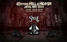 La misa cortesía de Ghost será oficiada por el Papa Emeritus y se llevará a cabo el próximo 23 de julio en el Autódromo Hermanos Rodríguez.