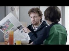 Gold(en). (New Weetabix ad via BBH London)