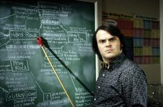 School Of Rock. I'm actually pinning this for the chalkboard diagram, though. Intense.