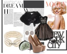 """""""Vintage.Glamour"""" by mizzbambi on Polyvore"""