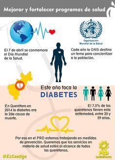 La epidemia de diabetes está aumentando rápidamente en muchos países, y de manera extraordinaria en los países de ingresos bajos y medianos. México no es la excepción y  lo cierto es que gran parte de los casos pueden prevenirse con la atención adecuada.