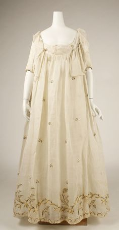 Dress Date: late 1790s