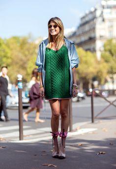 Paris Fashion Week – Spring/Summer 2015 – Streetstyle~Helena Bordon