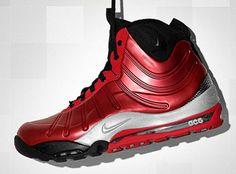 0e218a8f61d4f5 Nike ACG Air Max Posite Bakin Boot Red Nike Acg