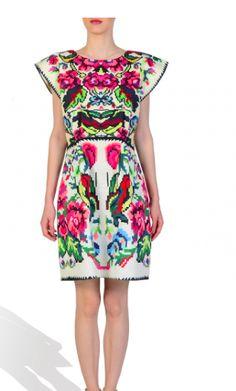 LANA DUMITRU Etno dress