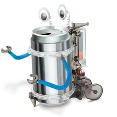 Tin Can Robot Science Kit | Party Supply Store | Novelty Toys | Carnival Supplies | USToy.com