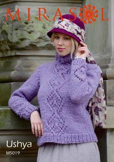 Lace Sweater in Mirasol Ushya (M5019) Digital Version | Deramores