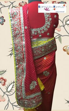 Lovely light colors and pretty looks in smart Gota worked designs!!!