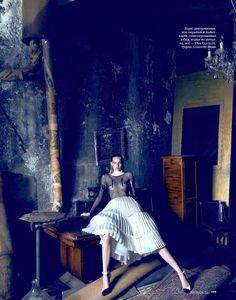 #KatrinThormann by #KorayBirand for #ElleRussia October 2013