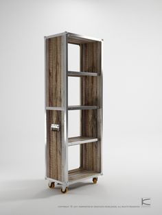 Karpenter designed a collection of repurposed teak wood furniture that has the presence of rustic and vintage style with a twist of modern appeal. The collection provides innovative storage solutions where chest and shelf units are all on wheels so you can easily move them around. These would make us feel a little better about the idea …