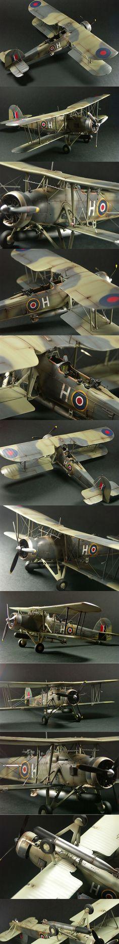 Biplane model