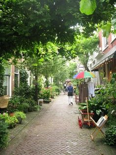 groene straat