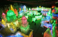 Amazzzzziiing ice sculptures in China!