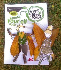Printables from the UK forestry dept. - elves and fairies to decorate with leaves and twigs Fairy Tale Activities, Forest School Activities, Morning Activities, Preschool Activities, Garden Crafts For Kids, Kids Crafts, Elves And Fairies, Preschool At Home, Tot School
