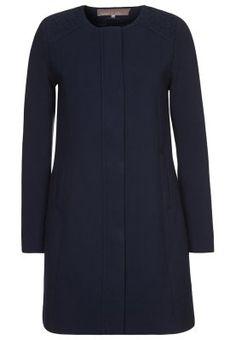 Krótki płaszcz - niebieski
