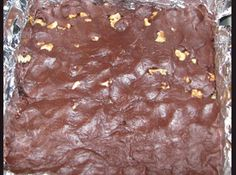 very heavy, very rich, very, very good :) I didn't want to make 2 separate batches, so I just poked walnuts into half of the soft fudge with toothpicks. I like both plain and with nuts. Fudge With Condensed Milk, Condensed Milk Recipes, Melting Chocolate Chips, Semi Sweet Chocolate Chips, Melt Chocolate, No Bake Brownies, No Bake Bars, Pie Dessert, Dessert Recipes