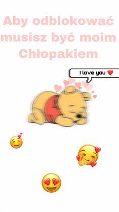 I Love You, My Love, Winnie The Pooh, Disney Characters, Fictional Characters, Te Amo, Je T'aime, Winnie The Pooh Ears, Fantasy Characters
