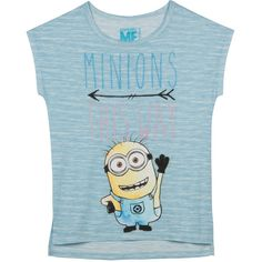 Despicable Me Girls' Minion Graphic Tee (€6,60) ❤ liked on Polyvore