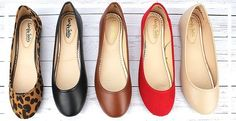 Ballet Flats Only $10 from Stitch Fix -- Yes please! SF, send me every color! I wear flats all the time for work!