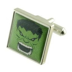 Hulk Super Hero Cufflinks