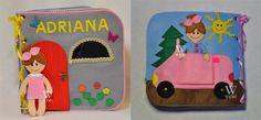 Personalizada libro casa de muñecas tranquila / por WeriBeauties