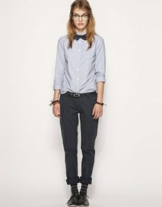Adore menswear on women. Adore it.  #menswear #androgynous