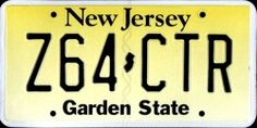 New Jersey license plate New Jersey, Jersey Girl, Newark City, Puerto Rico, Auto Body Repair Shops, Car License Plates, Licence Plates, Delaware Bay, Car Tags