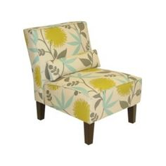 chair... think these might be our living room colors...