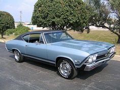 '68 Chevelle SS. Chevelle. Find parts for this classic beauty at restorationpartss...