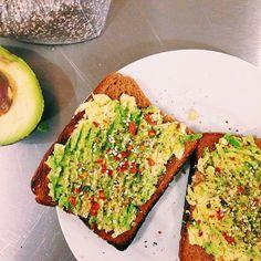 avocado toast @Chobani instagram
