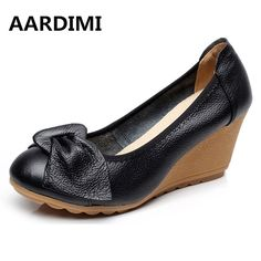 New arrival vintage mary janes women shoes genuine leather spring slip on high heels black white wedges shoes women pumps #Black high heels http://www.ku-ki-shop.com/shop/black-high-heels/new-arrival-vintage-mary-janes-women-shoes-genuine-leather-spring-slip-on-high-heels-black-white-wedges-shoes-women-pumps/