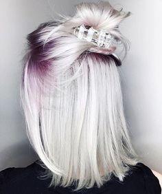 "10.3k Likes, 72 Comments - Alternative Fashion ♡ (@alternativexfashion) on Instagram: ""Amethyst Smoke ❄️ @leighdickson / hair by @chrisweberhair #alternativexfashion"""