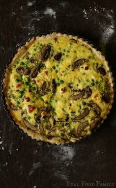 Spring Quiche ~ Real Food Family