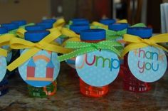 bounce house party favors
