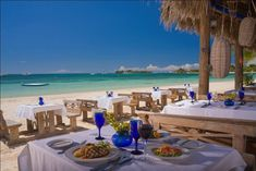 Restaurant beach | Sandals Negril - Review of the Sandals Negril all-inclusive resort in ...