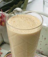 Shake de Chocolate Cremoso com Mamão Papaia Herbalife